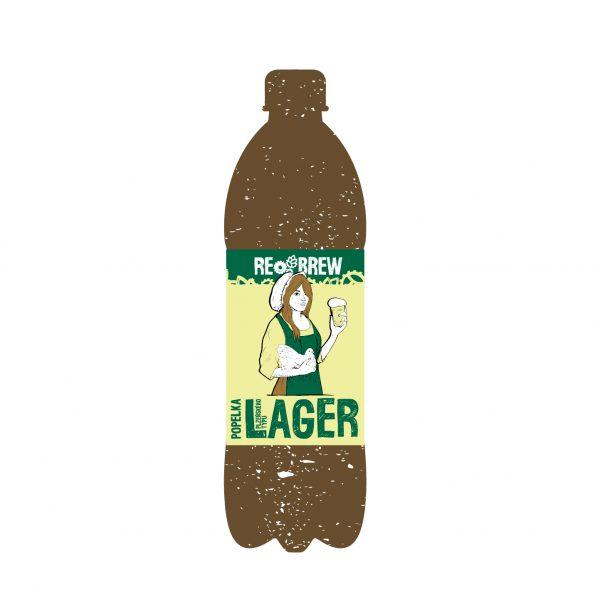 Popelka Lager 1 літр