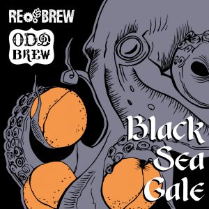 Black Sea Gale. Peach & Apricot Sour Milkshake IPA 1 літр