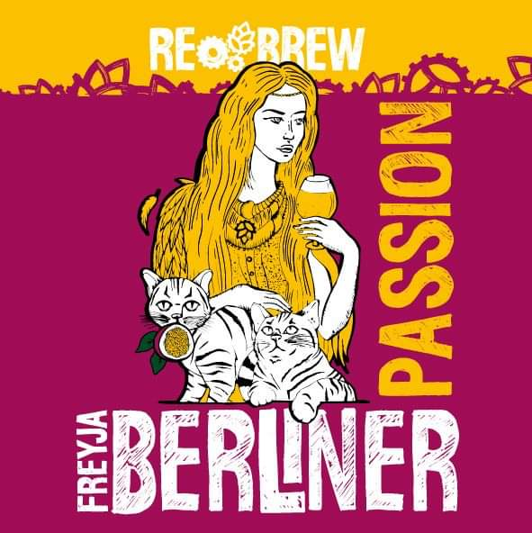 Freyja Passion Fruit Berliner Weisse 1 літр