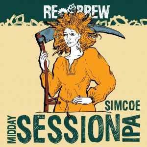 Lady Midday Simcoe Single Hop Session IPA 1 літр