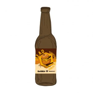 Mead: Baked Apple Melomel 0.33