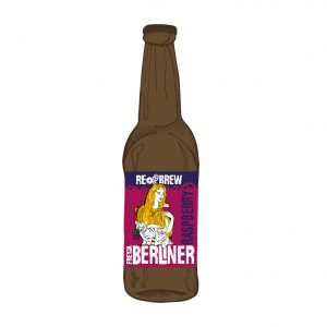 Freyja Raspberry Berliner Weisse 0.33