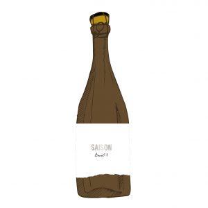 Saison Barrel 1. Barrel Aged Sour Beer 0.75
