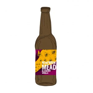 Mead: Blueberry and Vanilla 0.33
