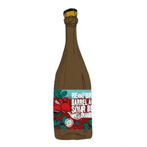 Wild Cranberry. Barrel Aged Sour Beer 0.75