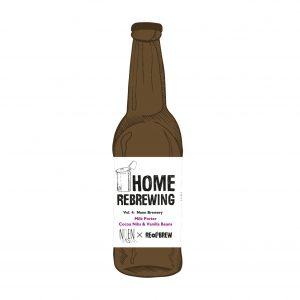 Home Rebrewing. Vol. 4: Milk Porter W/ Cocoa Nibs & Vanilla Beans