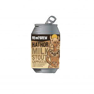 Hathor Cappuccino Milk Stout 0.33 З/Б