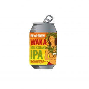 Waka Milkshake IPA 0.33 З/Б