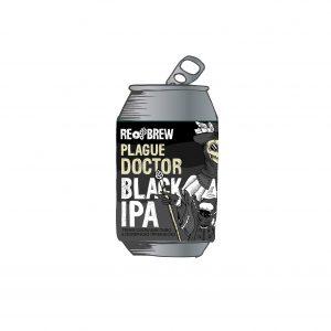 Plague Doctor Black IPA 0.33ж/б
